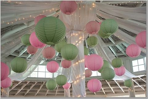 Paper Lanterns are a nifty way of putting some light out there