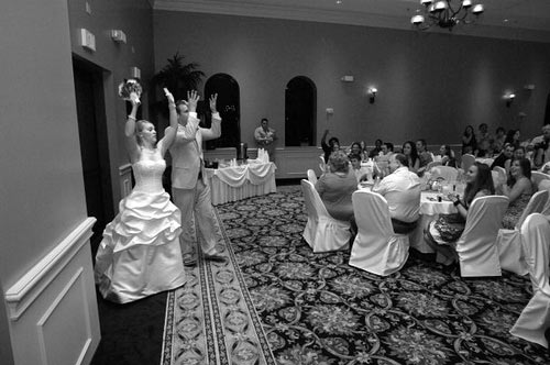 The Best Songs For The Grand Entrance Of The Wedding Party: WEDDING RECEPTION: The Grand Entrance Intro