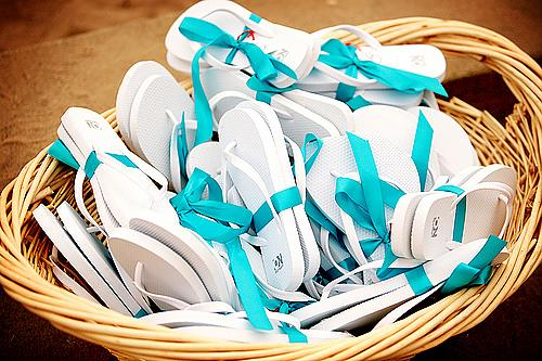 Wedding Flip Flop Basket | Albany Wedding DJ, Sweet 16 DJ, Reunion ...