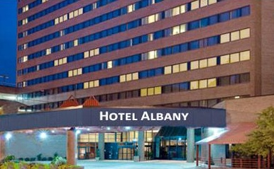 Hotel albany hilton wedding review albany ny dj crowne for Design hotel upstate new york