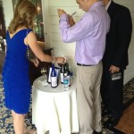 Wine bottle wedding guestbook DJ in Abany ny