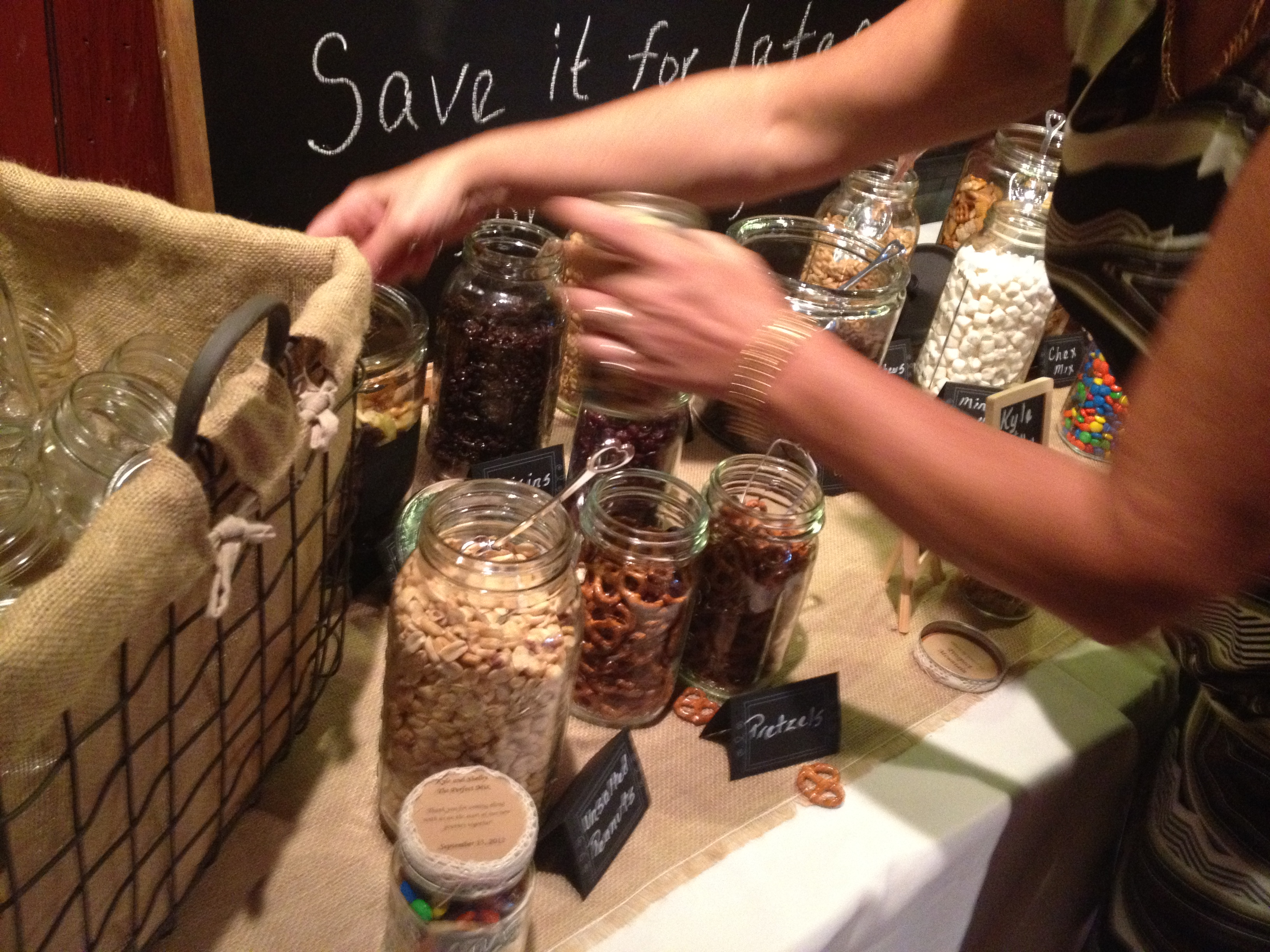 make your own trail mix wedding favor thedjservicecom albany ny wedding dj sweet 16 dj reunion party mitzvah dj of troy schenectady saratoga