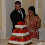 Indian Wedding Cake Cutting