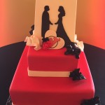 Hockey Wedding Theme Cake