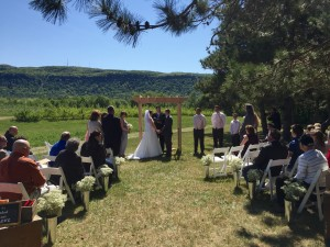 Indian Ladder Altamont NY Wedding Ceremony