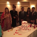 Indian Wedding Cake Cutting in Albany