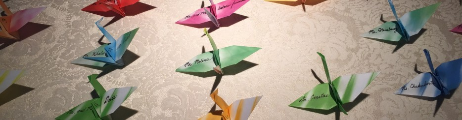 Wedding Origami Place Cards