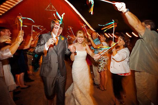 Ribbon Sticks Are Great Wedding Props