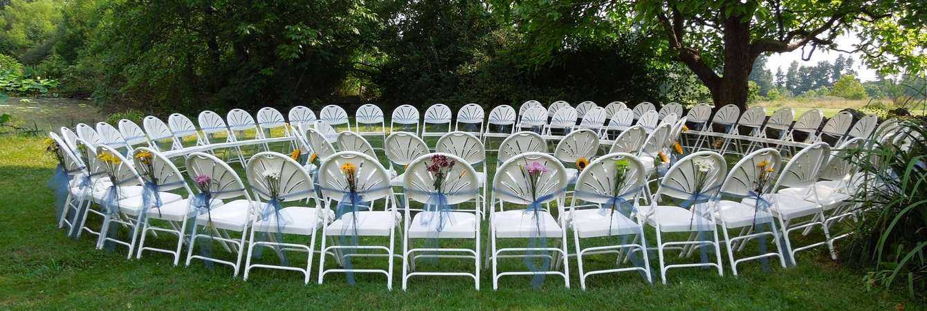 Spiral Wedding Ceremony Dj Chairs